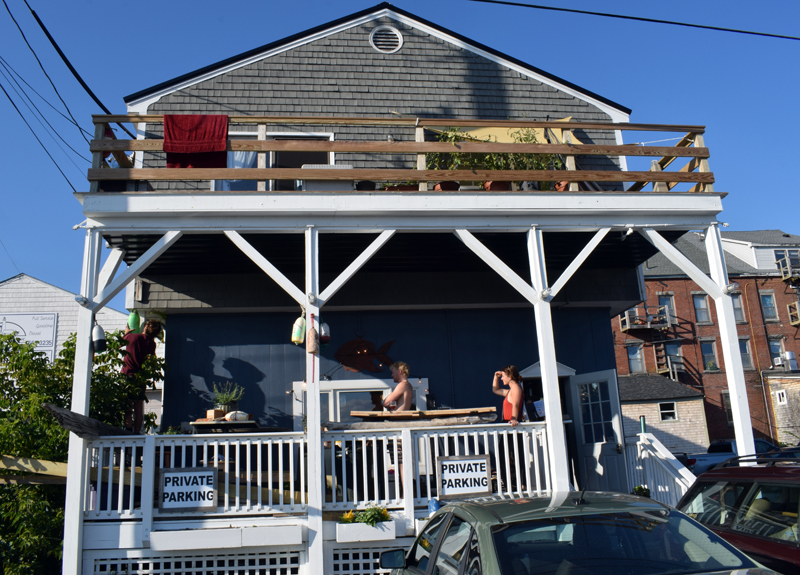 Maine Booch will open a tasting room at 85 Parking Lot Lane in Damariscotta's municipal parking lot from 5-9 p.m. on Monday, Aug. 9.  (Evan Houk photo)