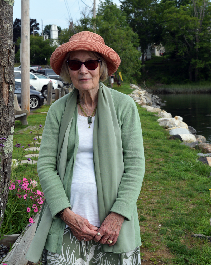 Ragnhild Baade, otherwise known as Frau Baade by those who took her German classes at Boothbay Region High School, has lived through the Second World War in Germany as a child and is a founding member of the Holocaust and Human Rights Center in Augusta. (Nate Poole photo)