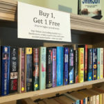 Buy One, Get One Free Sale at Village Bookshop