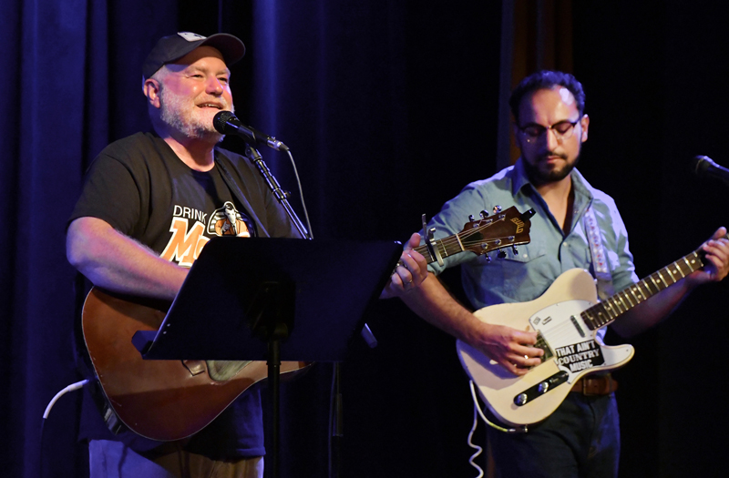 Cattle Call plays a sold-out show at The Opera House at Boothbay Harbor on Aug. 21, 2020.