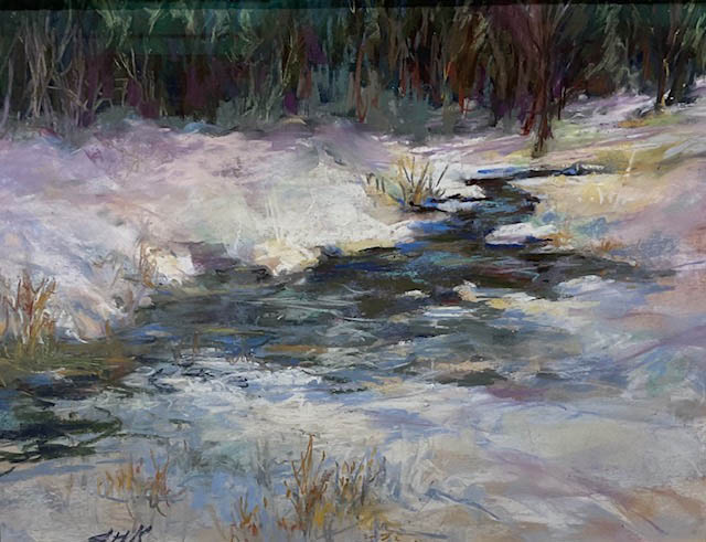 """Winter White,"" by Sue Kibbe."