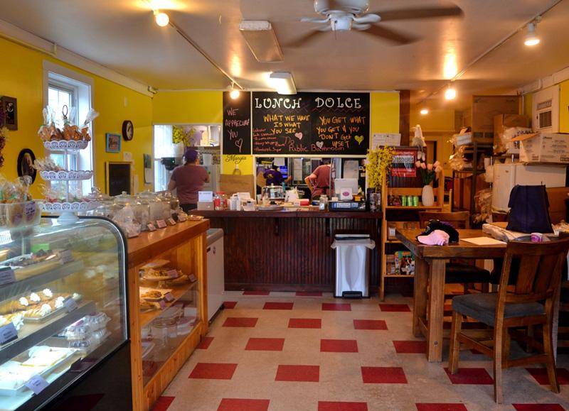 Inside Mammy's Bakery at 100 Main St. in Wiscasset Village. (Photo by Nettie Hoagland)