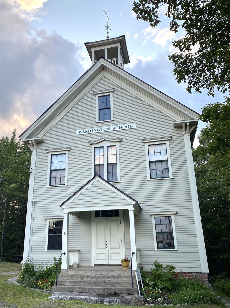 The museum at the Washington Schoolhouse in Round Pond is open on Wednesdays in August from 2-4 p.m.