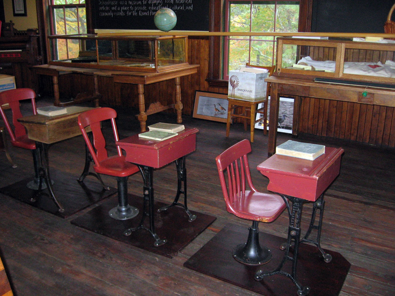 The museum at the Washington Schoolhouse will be open Wednesday afternoons from 2-4 p.m. in August.