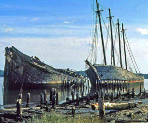 The Hesper will be one of the many schooners celebrated at Wiscasset Schoonerfest this August.