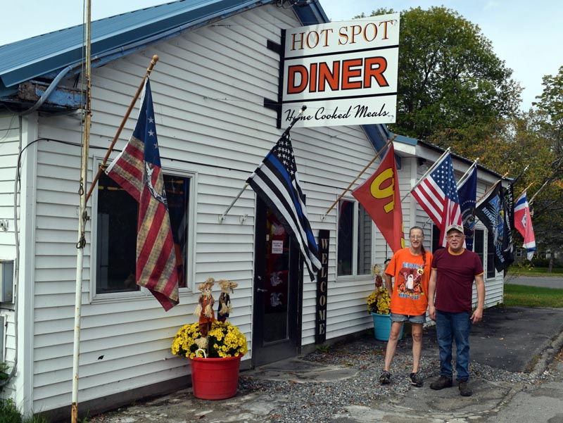 Lenny Santos and Tarah Diffin reopened the Hot Spot Diner on Sept. 1, welcoming back longtime patrons from across Lincoln County. In a past life, the space served as Santos previous diner, Ship's Chow Hall II until 2017. (Nate Poole photo)