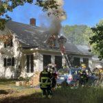 Dresden Blaze Draws Multiple Departments