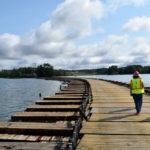 Floating Road Work Nearly Complete in GSB