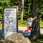 Nobleboro Residents Support Fire Department Fundraiser