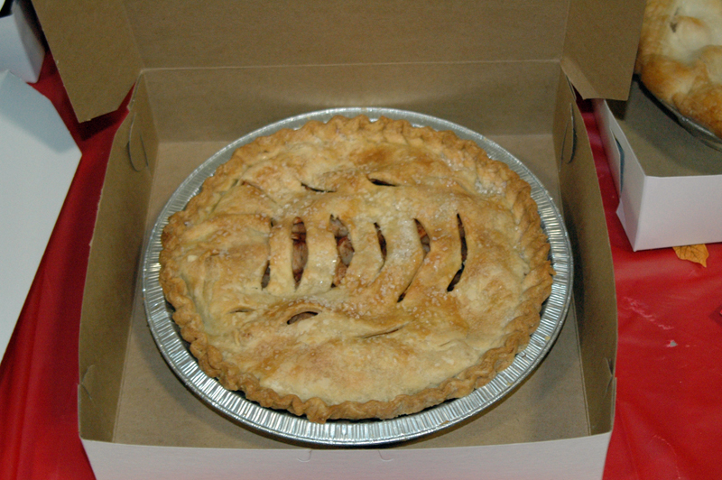 The Nobleboro Historical Society will host a Drive-By Apple Pie Buy on Saturday Oct. 2 at Nobleboro Central School. (Photo courtesy Laurie McBurnie)
