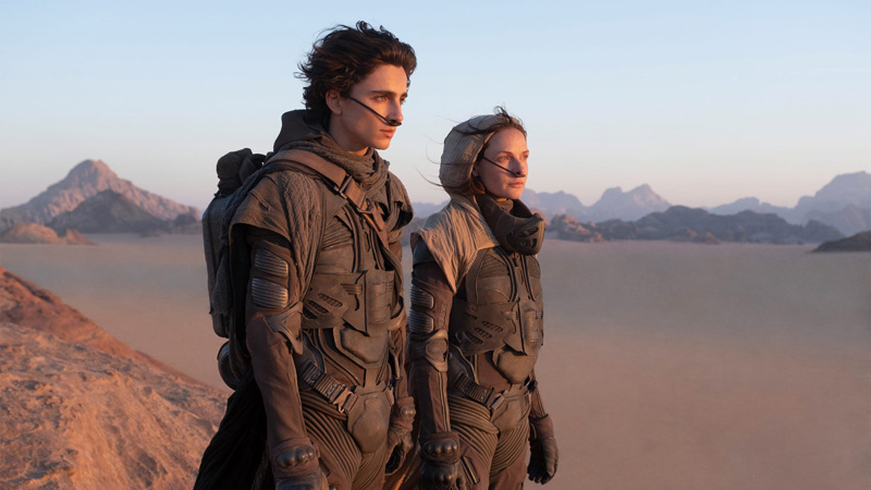 """A still from the upcoming film """"Dune."""" (Image courtesy Harbor Theater)"""