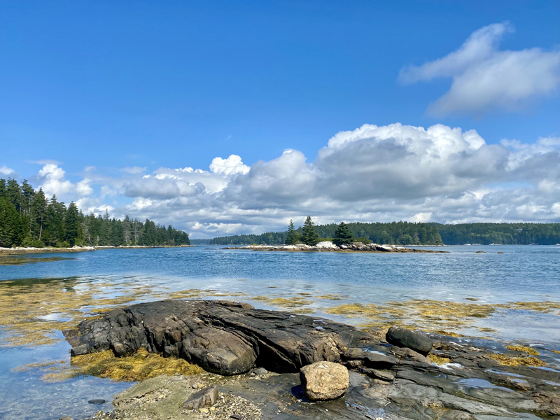 Midcoast Conservancy's service area spans three watersheds - the Medomak River (pictured), Damariscotta Lake, and the Sheepscot River. (Photo courtesy Tim Trumbauer)