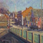 Waldoboro Library Art Auction Showcases Local Scenes