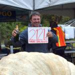 Pumpkinfest Weighs Off with Maine's First One-Ton Pumpkin